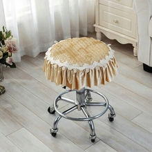 Four Seasons thickening small round stool dust cover chair