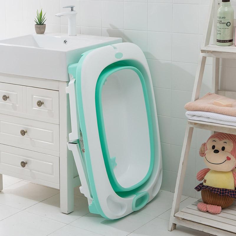 Baby Folding Bath Tub Baby Swim Tubs Portable Folding
