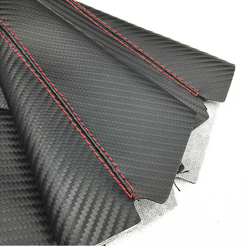 ZD 1X рычаг переключения передач Пыленепроницаемый Чехол из углеродного волокна кожа для Lada granta vesta Kia rio Ceed Sportage Seat leon аксессуары IBIZA