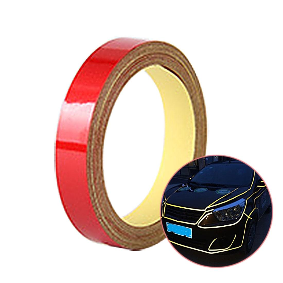 Dewtreetali Night Magic Reflective Tape 1cm 5m Automotive Body Motorcycle Decoration for opel toyota kia bmw