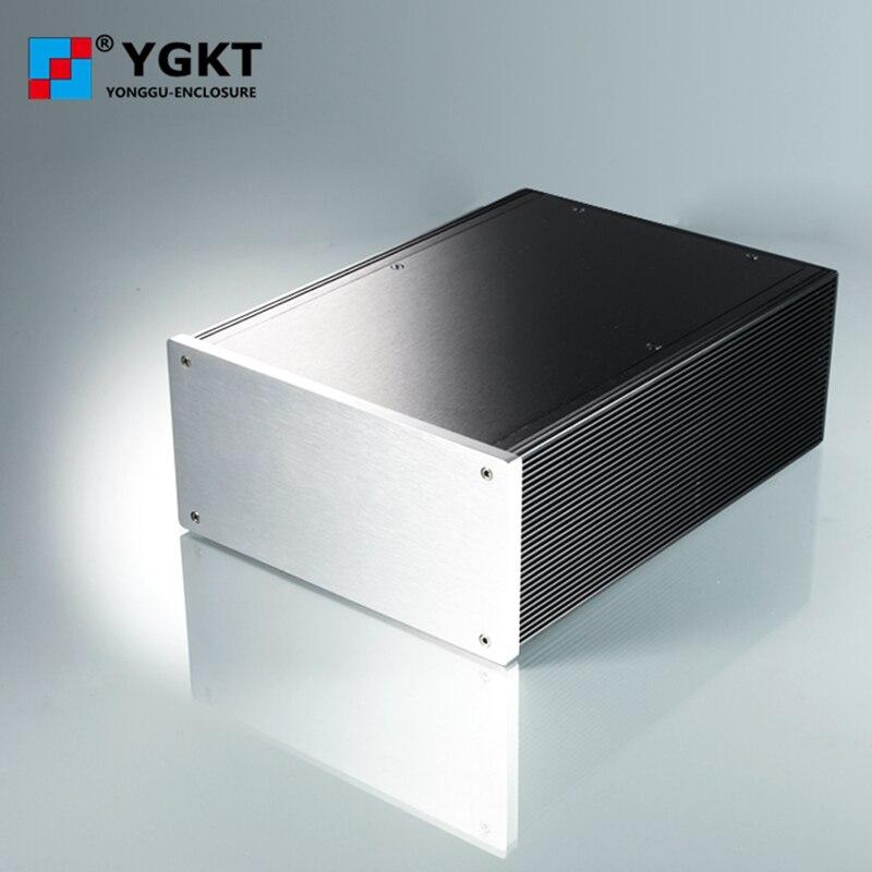Boîtier de boîtier en aluminium d'extrusion de boîtier amplificateur HIFI bricolage boîtier de boîtier 180*88*250mm (w * h * l)