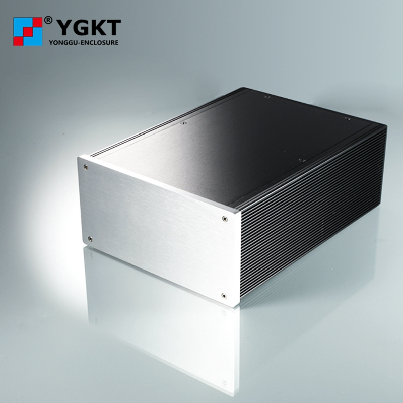 DIY HIFI amplifier enclosure Extrusion Aluminum enclosure Housing shell Box 180*88*250 mm (w*h*l) 145x68 220 mm w h l diy amplifier chassis diy box aluminum enclosure