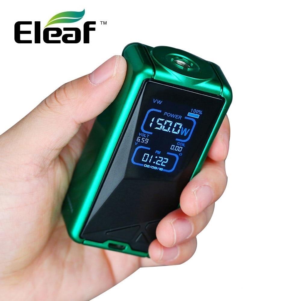 цена Original Eleaf Tessera 150W TC Box MOD w/ 3400mAh Built-in Battery Huge Power Max 150W Output E-cig Vape Box Mod Vs Eleaf Invoke