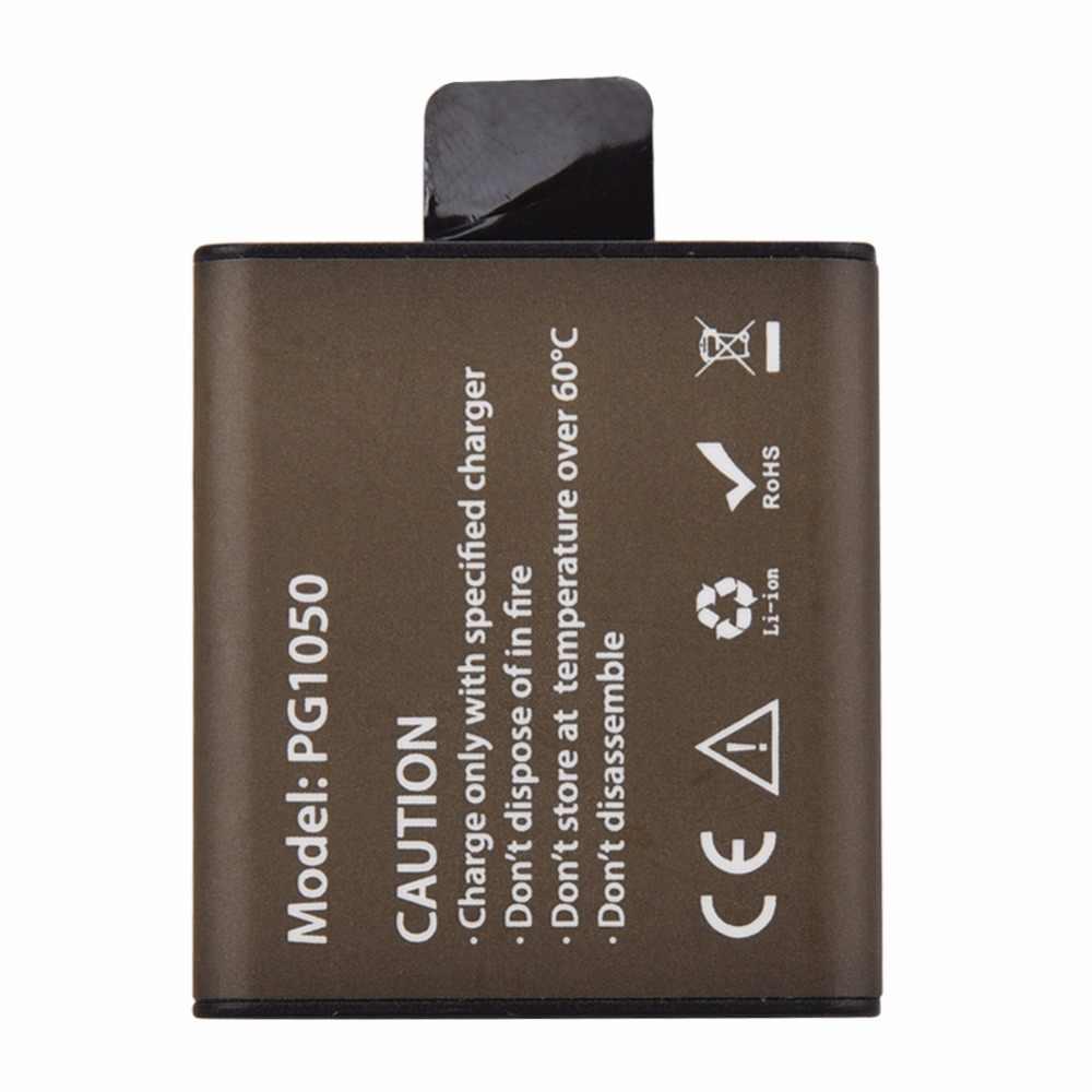 2x1050 мАч Спорт действий Камера Батарея с двойной заряжать IPad для eken H9 H9R H3R H8PRO H8R pro SJCAM SJ4000 SJ5000 мини DV Bateria