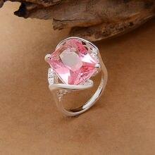 Оптовой посеребренные складе обручальное старину роскошный горячая под сша розовый кольца