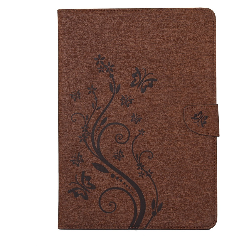 Pro 3 tablet sleeve case slim wallet pu leather protective skin pouch - Flower Pu Leather Wallet Pouch Book Flip Smart Cover Case For Samsung Galaxy Tab 4 10 1