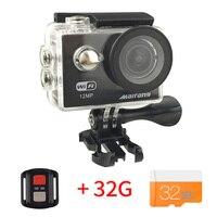 W9R 2.4G Remote control Wifi camera 2 inch 1080P FHD go kamera w9s Action Camera deportiva pro sport cam