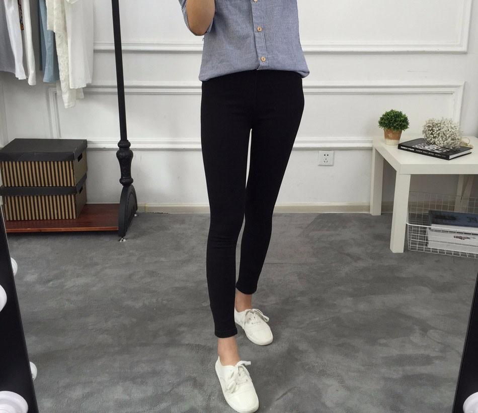 BIVIGAOS Basic Skinny Womens Jeans Ankle Pencil Pants Slim Elastic Denim Pants Jean Leggings Female Cotton Jeggings Jeans Women 17