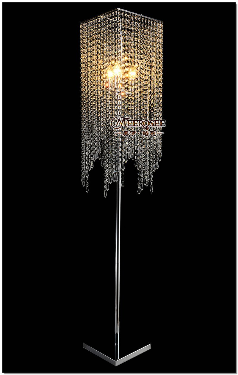 Online Get Cheap Crystal Floor Lamps Aliexpress Com