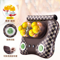 5d Roller Jade Heating Cushion Mat Cervical Shoulder Massager Mattress Massage For Car Sofa Office Home Body Head Electronic