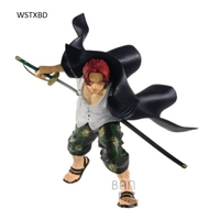 WSTXBD Original Dragon One Piece OP Swordsmen Shanks Red Hair PVC Figure Toys Figurals Model Kids Dolls Vol.02