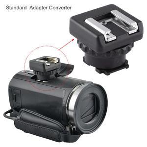 Image 5 - MSA MIS Standard Hot Cold Shoe Adapter Converter Multi Interface Shoe DV Camcorder Mount For Sony Plastic Metal Skate Ski Diving