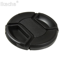 цены Universal 37 40.5 43 46 49 52 55 58 62 67 72 77 82mm Camera Lens Cap Protection Cover Lens Cover For Canon Nikon Sony Pentax