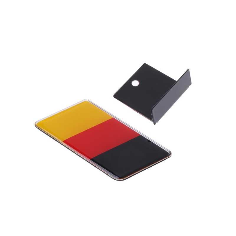 Badge drapeau avant de calandre allemand | Pour Volkswagen Golf Polo, Audi Auto, décoration, nouveau 2019 1 pièce