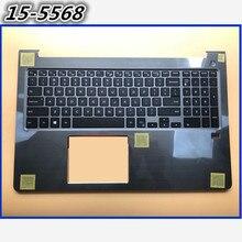 Использованный 90% newpalmest чехол с английской клавиатурой для DELL Vostro 15 5568 V5568 15-5568 верхний чехол