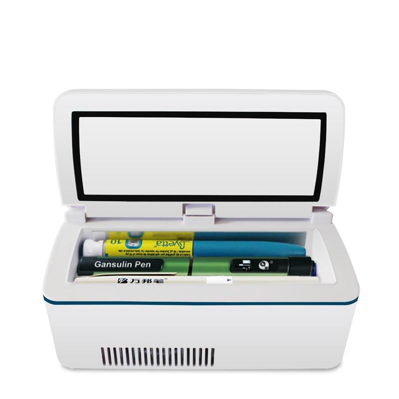 Portable Insulin Fridge Diabetic Inslin Cooler Box Medical Refrigerator