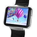 Dm98 bluetooth smart watch wifi gps 3g teléfono inteligente relojes soporte tarjeta sim (gsm/wcdma) de pantalla de alta definición 22 idioma