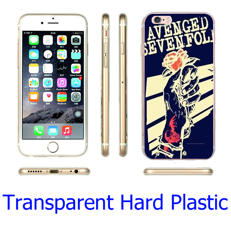 Avenged Seven Fold Clear Phone Cover Case for iPhone 5S 5 SE 5C 4 4S 6 6S 7 Plus ( Soft TPU / Hard Plastic )