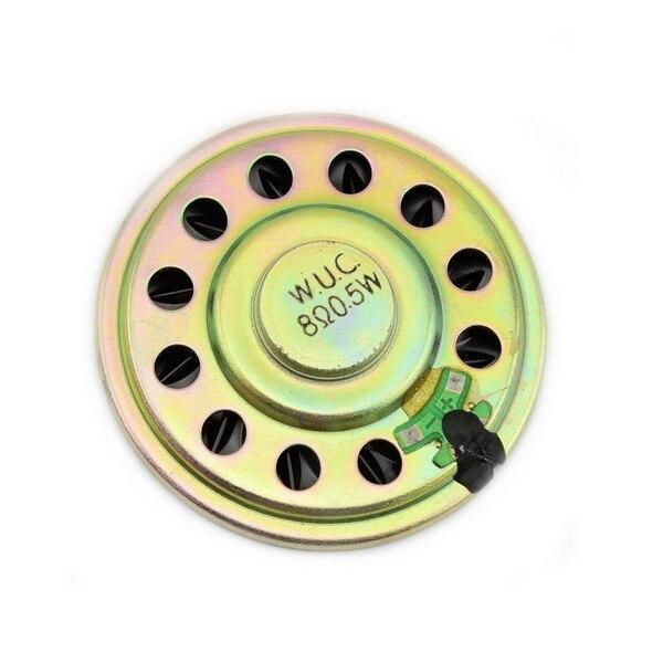 57 мм 8ohm 0.5 Вт Ультратонкий Маленький Динамик для Игрушек/DVD-Черный + Бронзовый 10 шт.