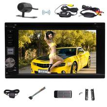 Camera included din Android6.0 Car Stereo Quad Core car gps DVD Player Car GPS Navigation Support 3D Map Car Monitor Mirror link