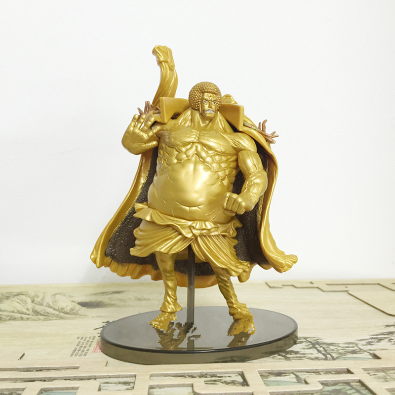 Action Figure One Piece Sengoku 17cm PVC Golden Buddha Warring States Buddha Onepiece Doll Toys gifts Collectible Model Anime