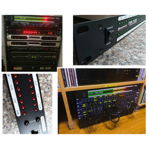 Image 5 - DB100 Professional Stage Home Amplifier Speaker Dual 40 Spectrum Audio LED Stereo Level Indicator  57dB 0dB