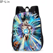 2019 New Anime GDRAGON BALL Schoolbag for Teenager Boys and Girls Cool Anime Kids Backpack Boys Sun Goku Backpack for Teenagers(China)