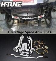 H TUNE Aluminum Rear Stabilizer Sport Kit Space Arm For Hilux Vigo 05 14