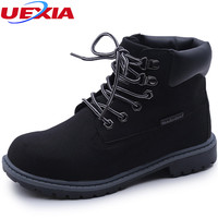 Fashion Ankle Boots Lace Up Plus Size Flats Casual Snow Martin Boots Women Shoes Ladies Oxford Footwear zapotos mujer