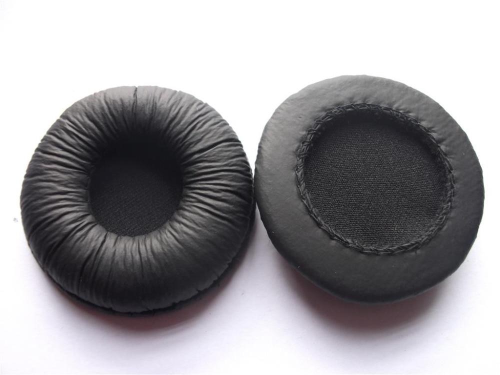 Linhuipad 55mm diametru din piele pentru urechi perne pentru urechi - Audio și video portabile