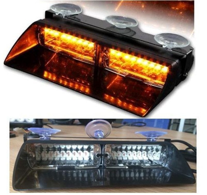 Car Styling 16 LED Mini Lightbar Strobe Flash Beacon/48W Warning Light/ Ambulance Lightbar/Emergencia Magnetico Beacon Light Bar new coming led lightbar 240 led 20w beacon light with magnets emergency strobe light bar dc12v led warning light