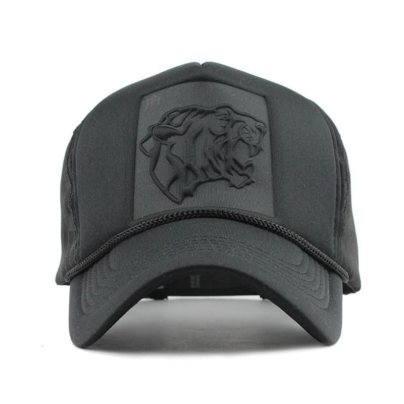 [FLB] 2017 Hip Hop estampado de leopardo negro gorros de béisbol - Accesorios para la ropa - foto 2