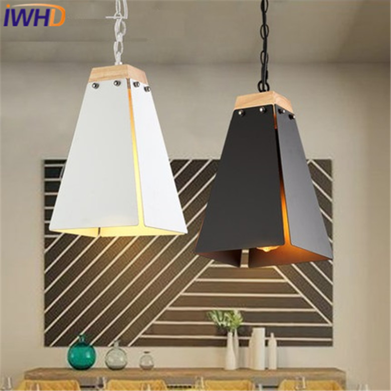 IWHD Edison Style Loft Retro Pendant Lights Vintage Industrial Iron Hanging Light Fixture Black White Restaurant Lamp Luminaire iwhd style loft industrial hanging lamp iron vintage lamp pendant lights retro black hanglamp light fixtures luminaire lampen
