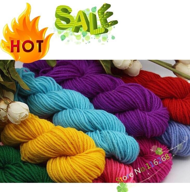 5 Pieces 35g Wholesale Acrylic Crochet Yarn Thread To