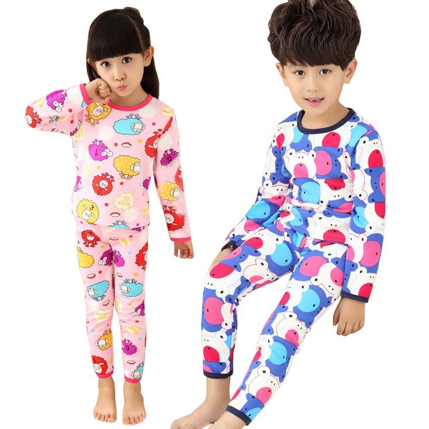 Nuevos niños de los Pijamas para niños niñas 2016 , además