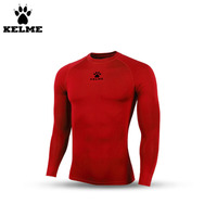 Kelme New K15Z705 Men Thin Long Sleeve Straitjacket Red