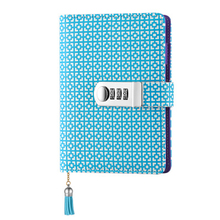 TATCAT  A6 Binder Journal with Combination Lock Travel Diary Notebook (pen not included)TPN104