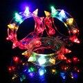Прохладный 8-СИД Красочные LED Light-up Браслет Игрушки для детей 12 шт./десяток детей игрушки для детей
