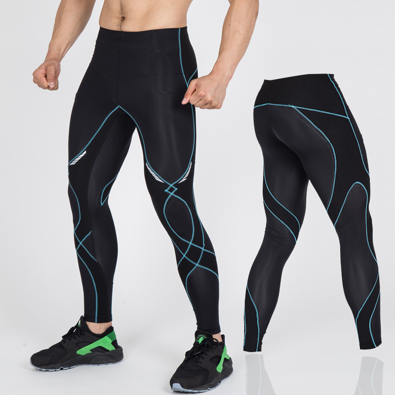 New Design Men Running Pants Sports Capri Pants Fitness Trainning Excersice Tight Pants Compression 3/4 Trousers Size S-XXL size 32 44 hip hop pants plus size jeans leisure sports in men s trousers in europe and the men trousers