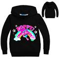 Trools Poppy Clothes Boys Clothes Troll Girls Hoodies and Sweatshirts Poppy New Year's Gift Kids Children Clothing Tees DC1089