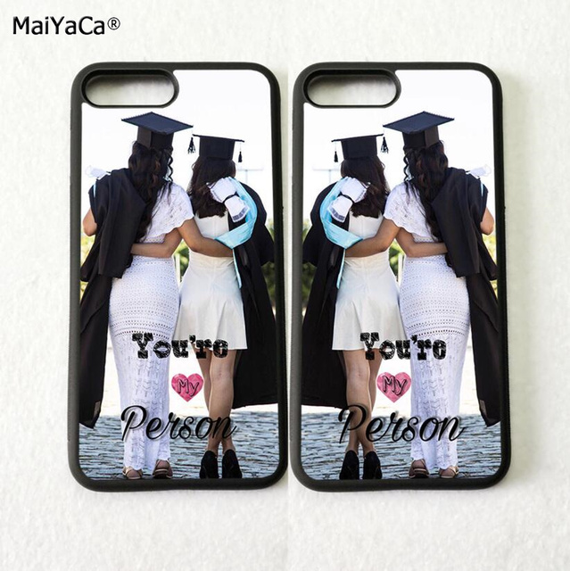 you are my person two sisters girl BFF best friends love pair phone cases for iPhone 5s se 6 6s