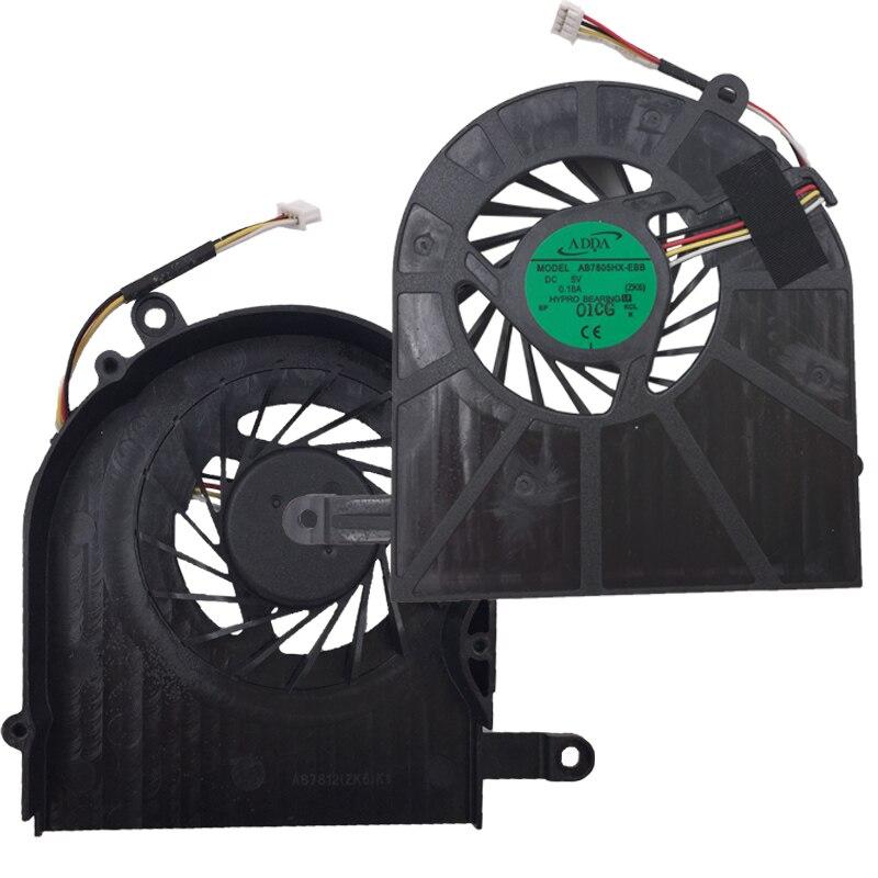 Новый ноутбук вентилятор охлаждения для ACER 5739 5739G-6959 AB7805HX-EBB процессор кулер/радиатор ремонт замена