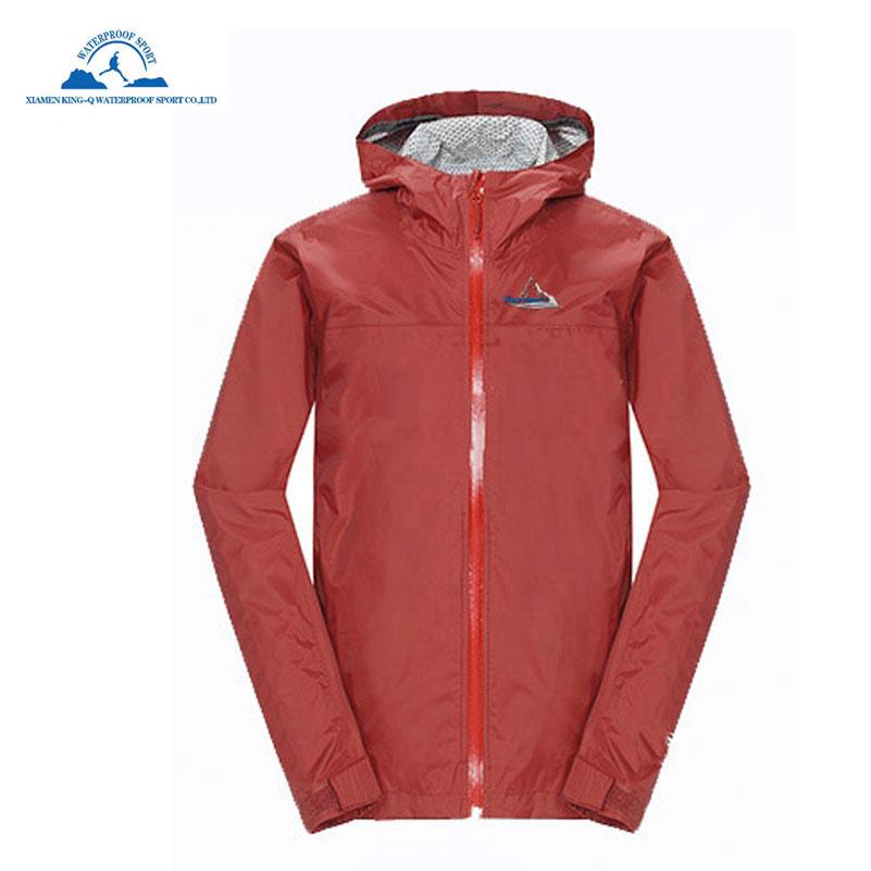 5169c080ad26e6 Women Waterproof Raincoat Outdoor Hooded Rain Jacket Windbreaker Packable  Lightweight Skin Coat Windproof UV Protect for Summer