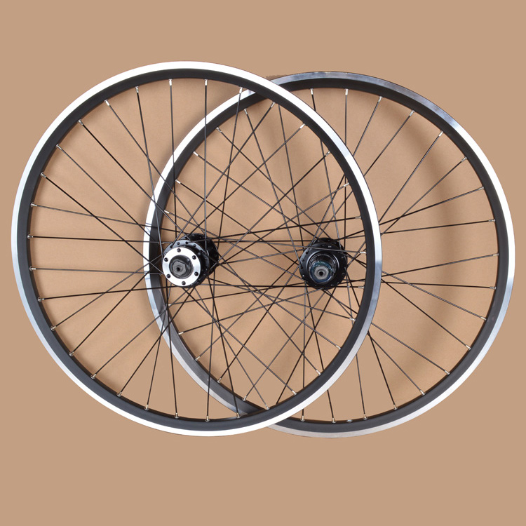 EMS 24'' Inches MTB Mountain Bikes Bicycles V Brake Wheel Rim Wheelset QUANDO 32 Holes Hubs Parts part shipping Rim mountain bike four perlin disc hubs 32 holes high quality lightweight flexible rotation bicycle hubs bzh002