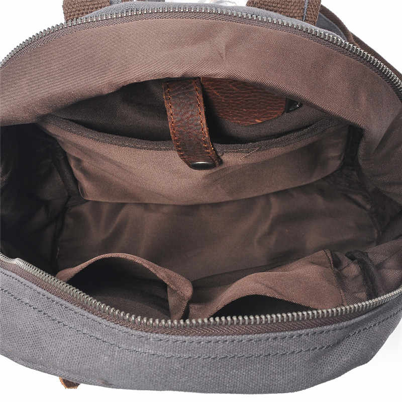 Nesitu Высокое качество Винтаж водонепроницаемый Хаки Серый Черный Армейский Зеленый масло воск холст рюкзаки для женщин и мужчин дорожные сумки M2039