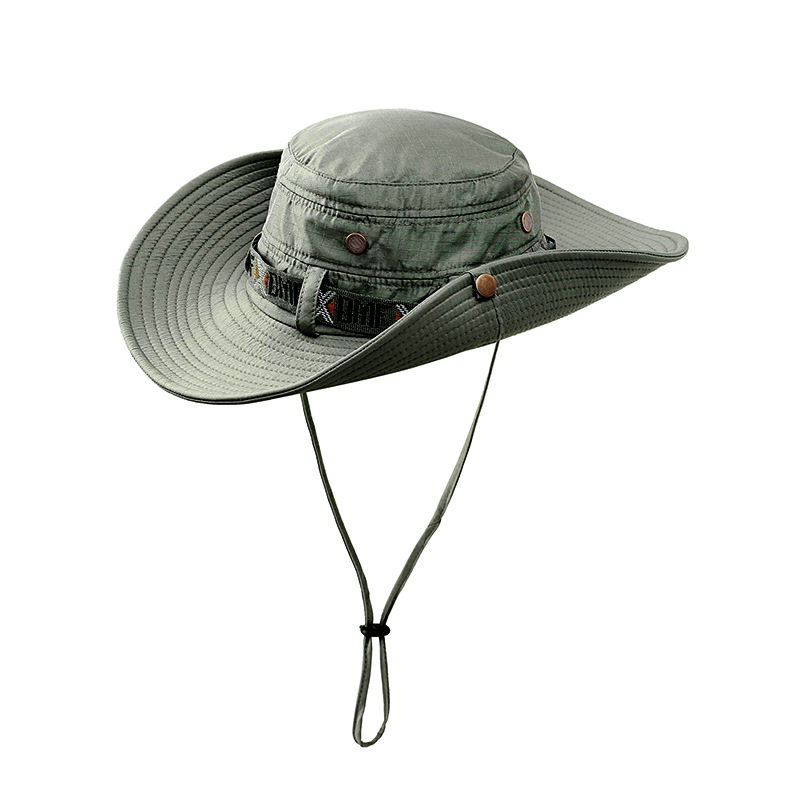 MEN WOMEN WIDE VISOR FISHERMAN BUCKET HATS BOONIE BUSH COWBOY FISHING HUNTING