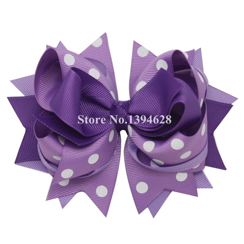 Përkuljet Tuaja 1PC 5.5Inheshe Dritat e purpurta të purpurta Polka - Aksesorë veshjesh - Foto 1