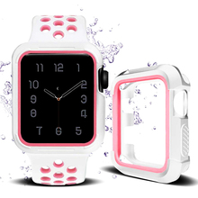 Protector case&strap for apple watch 4 3 band 44mm 40mm correa Protective cover sport bracelet for iwatch series 3/2/1 42mm 38mm цена