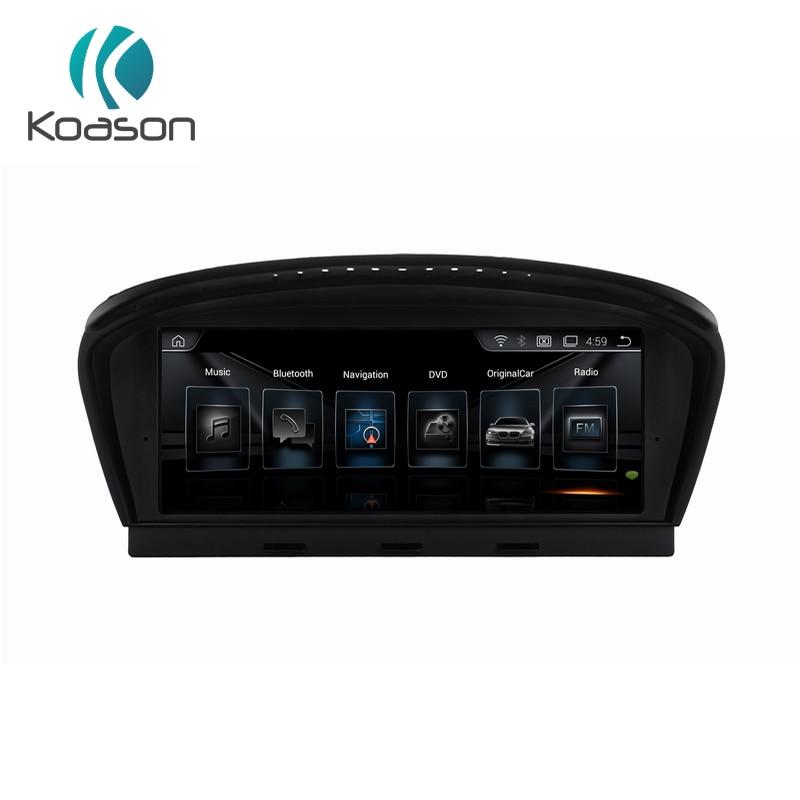Koason ID6 2G + 32G Android 8.1 GPS navigation für BMW 5 Series E60 E61 E63 E64 E90 E91 e92 CIC system auto-multimedia-player