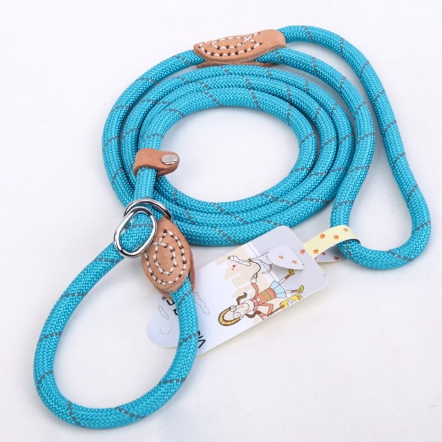 Collars, Harnesses & Leashes Dogs High Quality Adjustable Training Dog Leash From Reflective Nylon  My Pet World Store